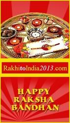 Rakhi celebration with a sparkling note