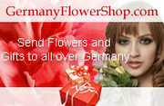 Love and Affection Shower over Flowers for Germany