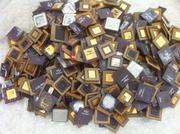 ceramic cpu scrap for gold recovery