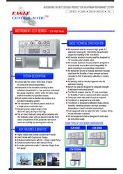 Eagle Control-Matic - ECM 4100X Instrument Test Bench