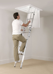 Attic ladders supplied & fitted from €195 phone 0872795090
