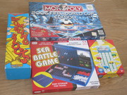 4 games (including 2006 World Cup Monopoly & Stumbling Blocks)