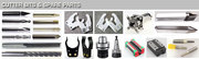 cnc router,  iso30 forks,  HSK63F grippers,  woodturning tools,  foam bits